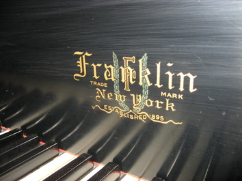 Franklin refurbished piano